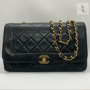 Chanel Diana Small Black Flap Bag